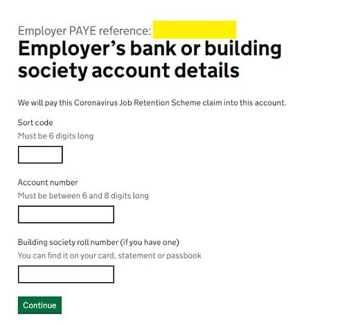 Job Retention Scheme Portal Step 16
