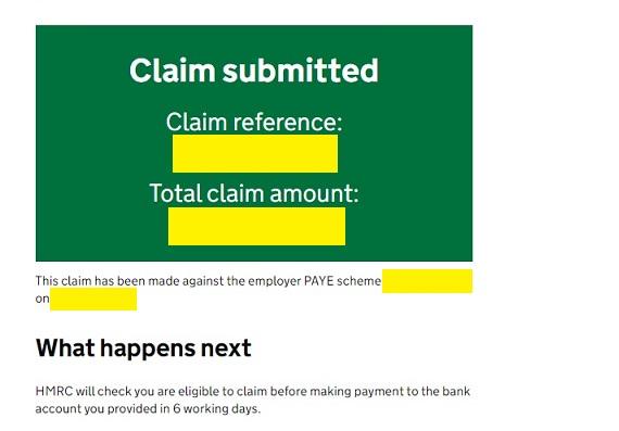 Job Retention Scheme Portal Step 21