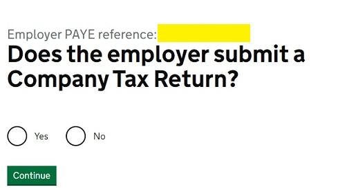 Job Retention Scheme Portal Step 6