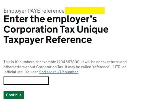 Job Retention Scheme Portal Step 7
